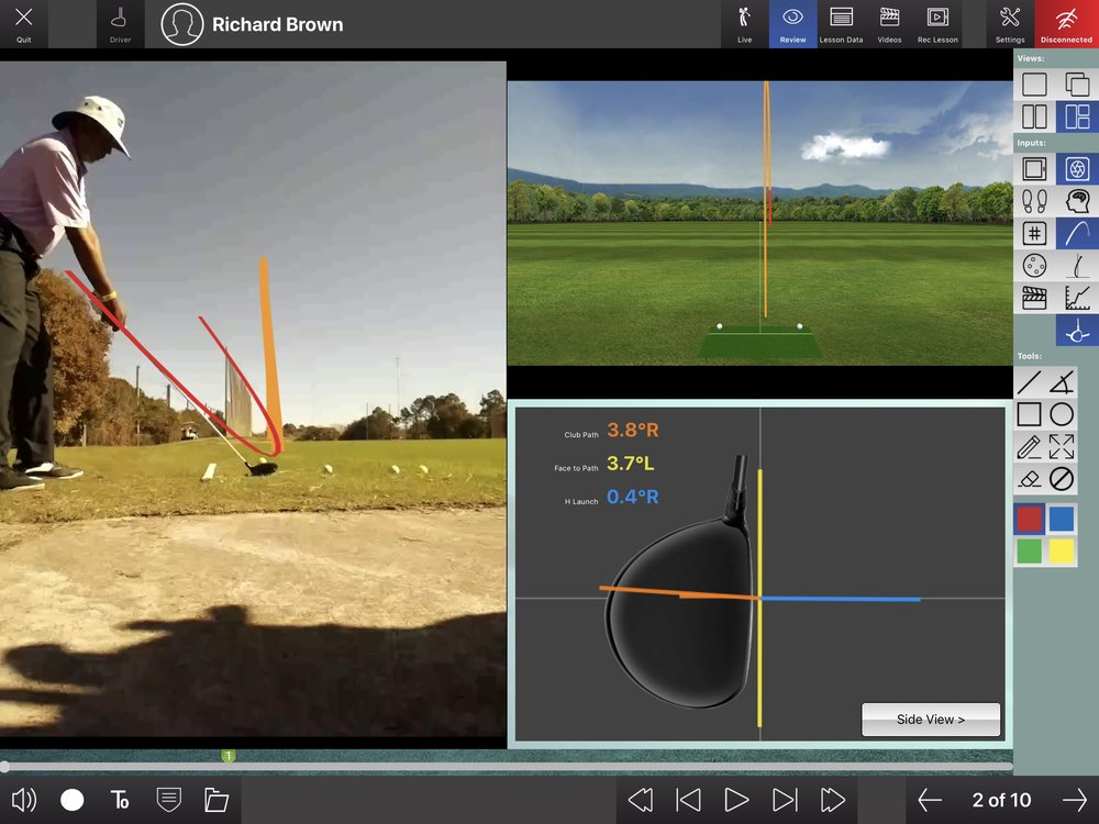 FlightScope X3 Launch Monitor Technology can enhance all phases of the game.