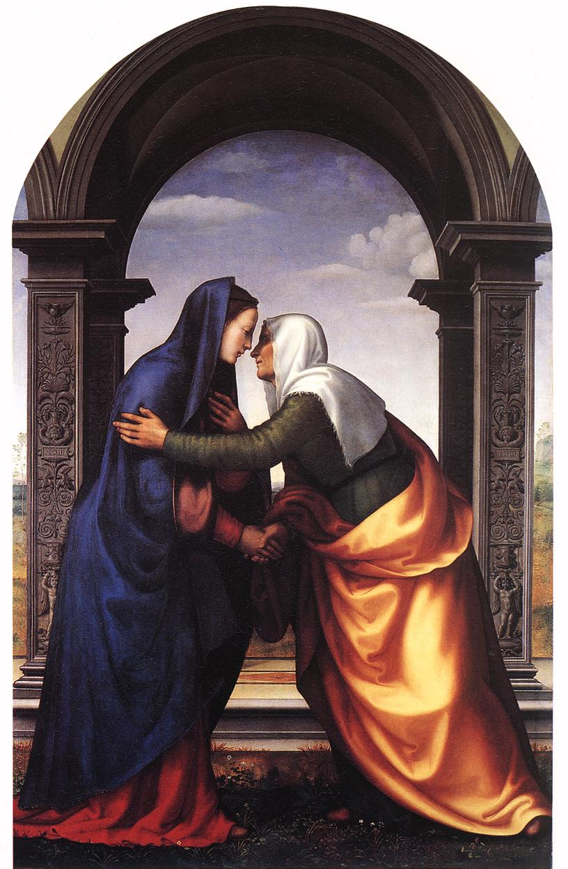 Albertinelli,  The Visitation , 1503