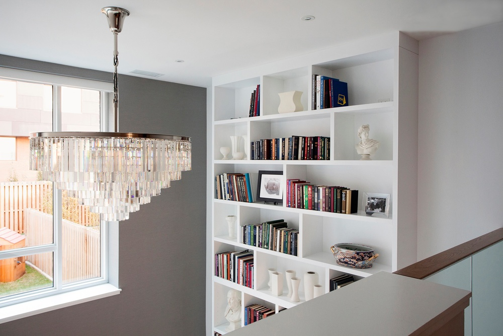 custom sconces bookcases bookshelves shelves ins in nyc built brooklyn with shelving urban homecraft light bookcase