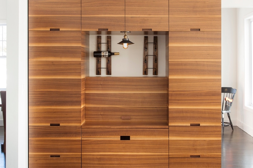Stunning Built-in Cabinetry