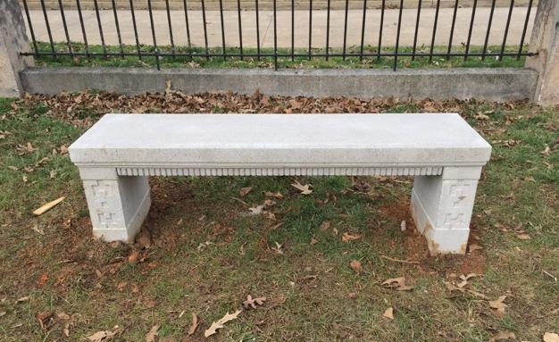 Talahi Park bench