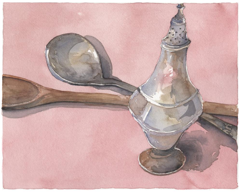 Spoon Still Life