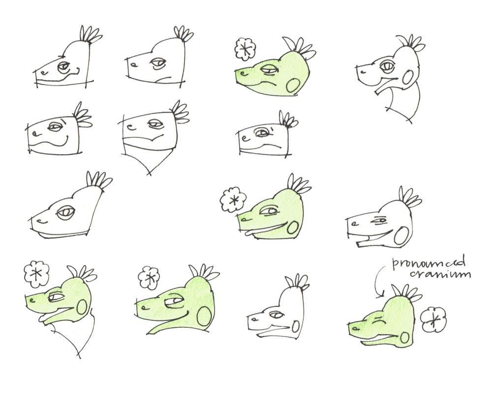 Mo Character | Head Shape Tests | July 2014