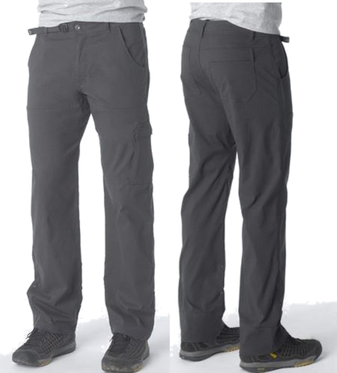 prAna - Zion Stretch Pant (front & back)