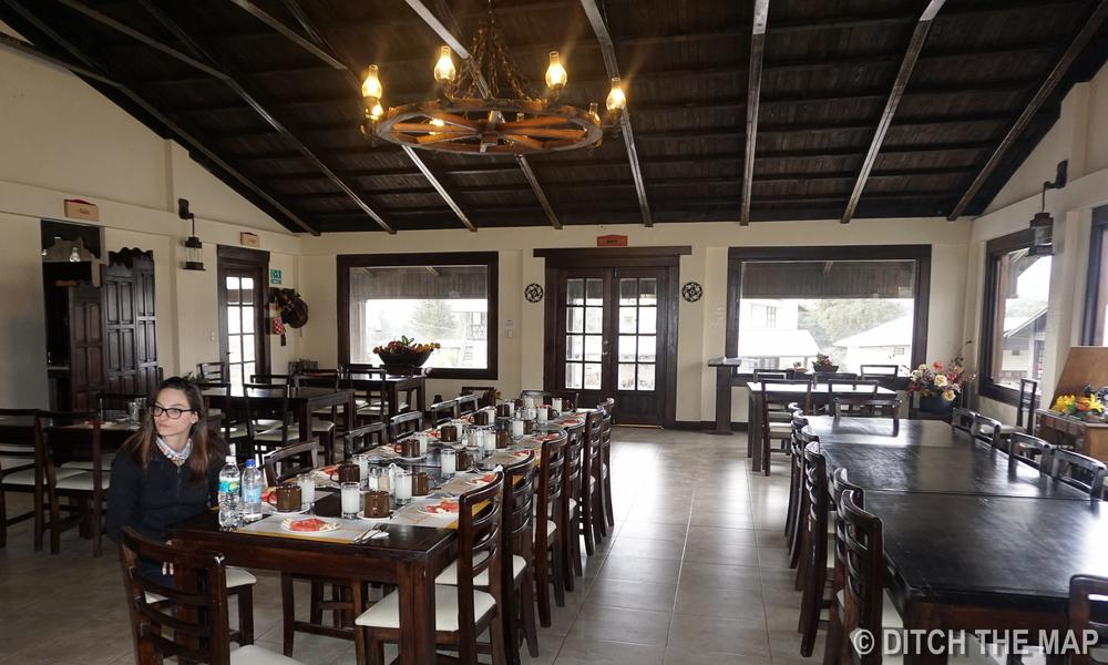 Our Dining facilities at Cotopaxi, Ecuador