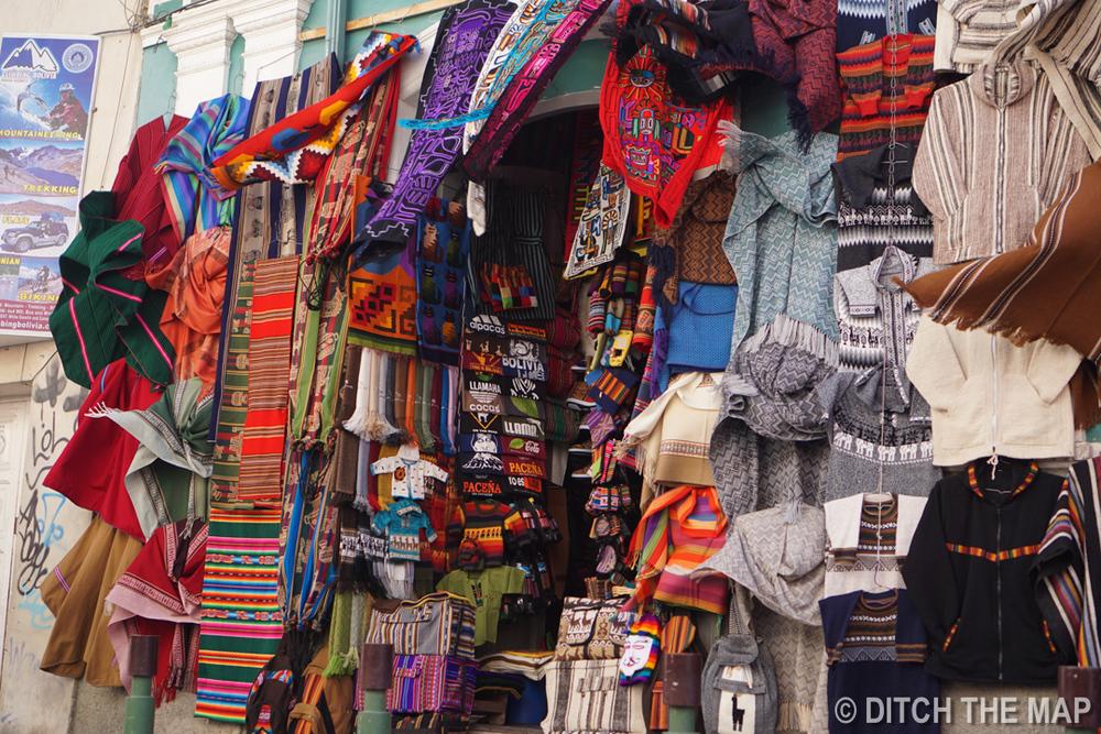 Market in La Paz, Bolivia