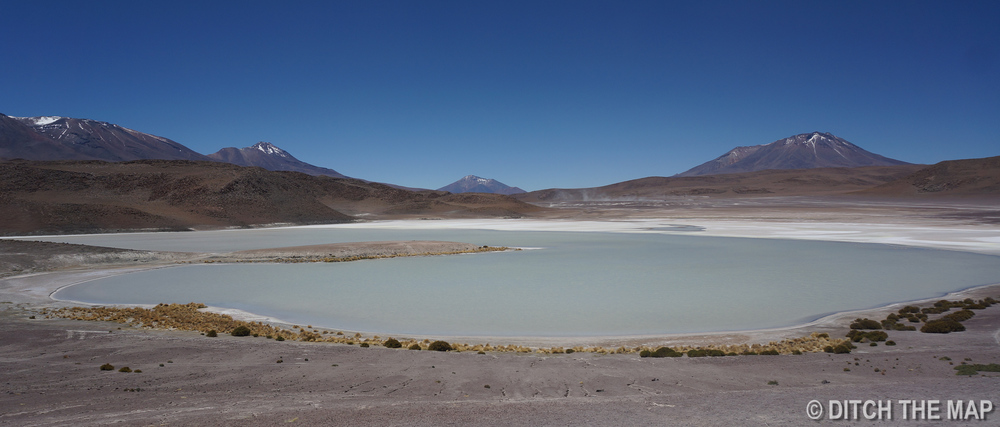 One of the many lagoons we visited in Salar de Uyuni, Bolivia