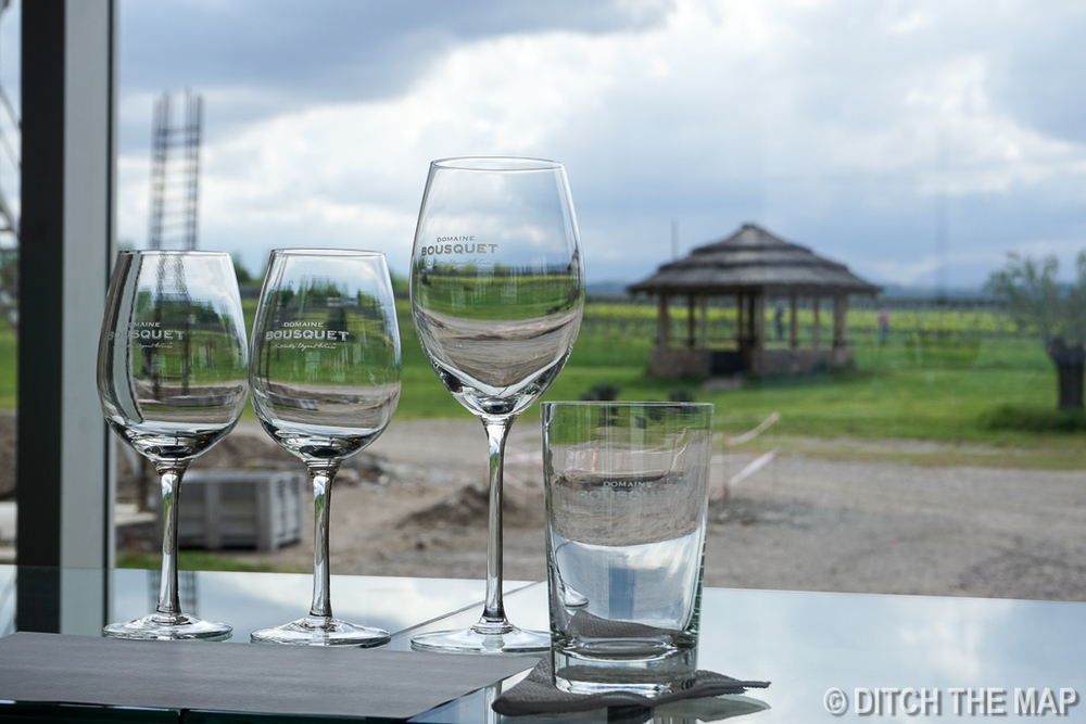 Juan Bouquet wine tasting in Tupungato, Argentina
