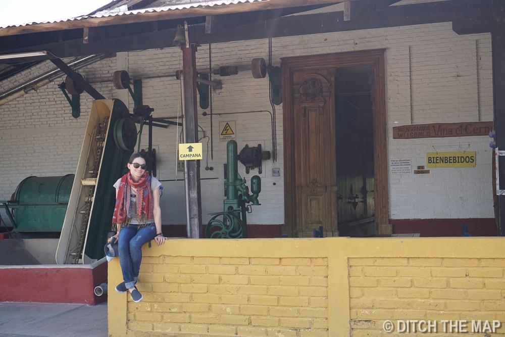 Visiting Vina el Cerno in Maipu, Argentina