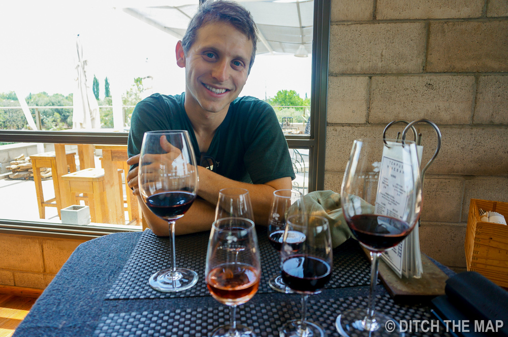 Visiting Tempus Winery in Maipu, Argentina