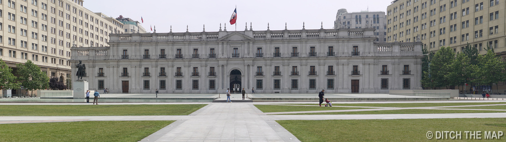Palacio la Moneda in Santiago, Chile
