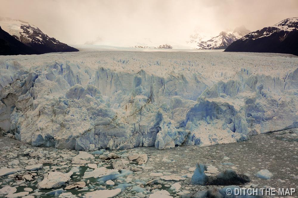 Perito Moreno Glacier just outside El Calafate, Argentina