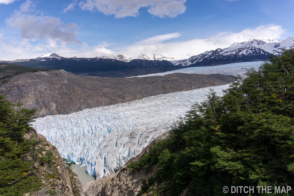 Glacier Grey in Torres del Paine, Chile