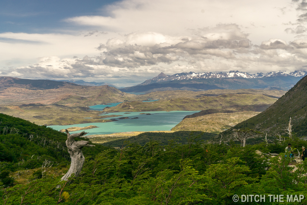 A view during our 3rd day hiking the W-Trek in Torres del Paine, Chile