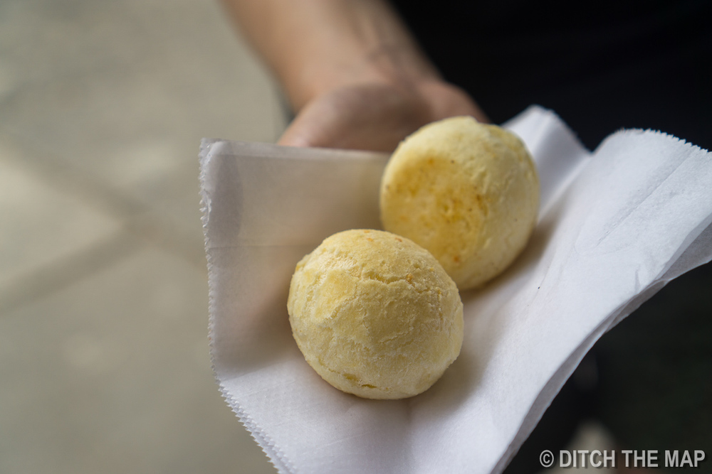 Cheesy Dough Balls that Sylvie loves so much in Rio de Janeiro, Brazil