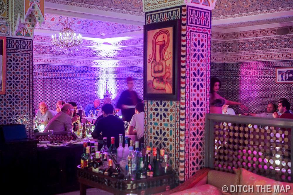 Basemane Restaurant in Casablanca, Morocco