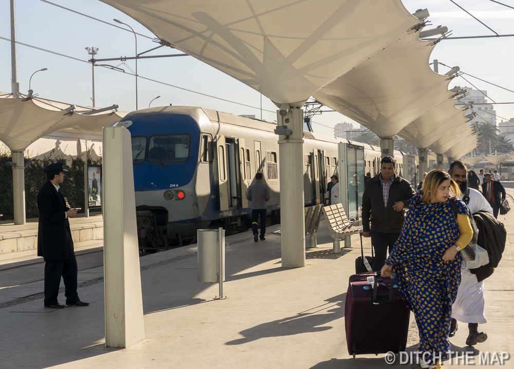 Train Station in Casablanca, Morocco