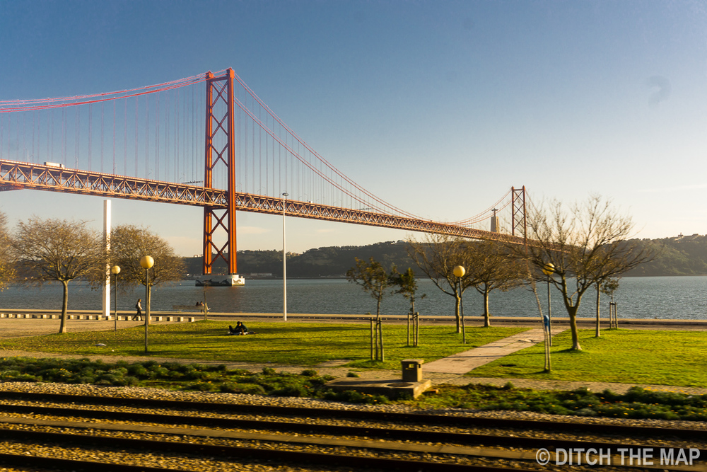 Bridge in Lisbon, Portugal