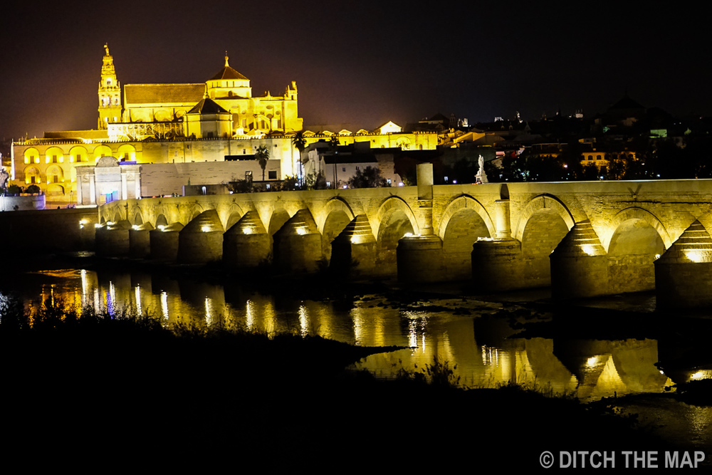 Enjoying a Night out in Córdoba, Spain