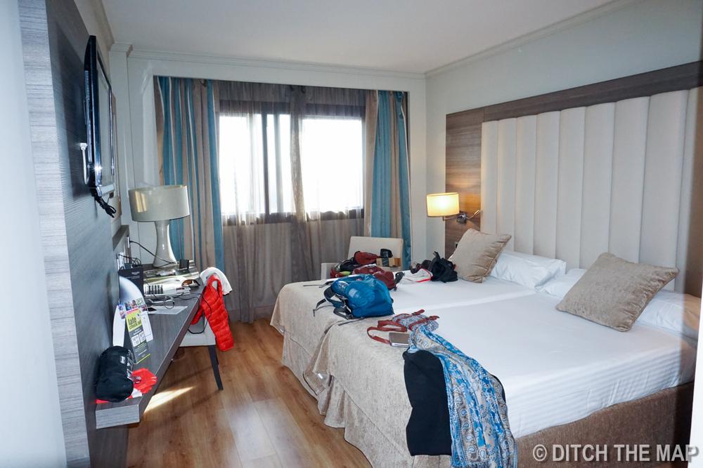 Our hotel in Granada, Spain