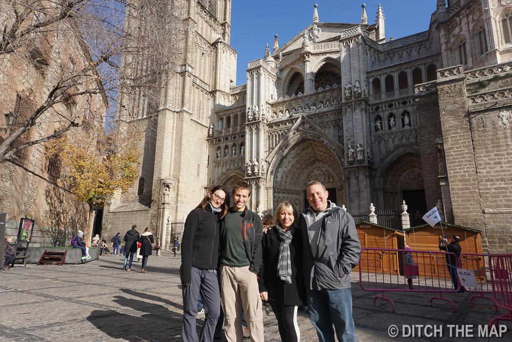In Toledo, Spain