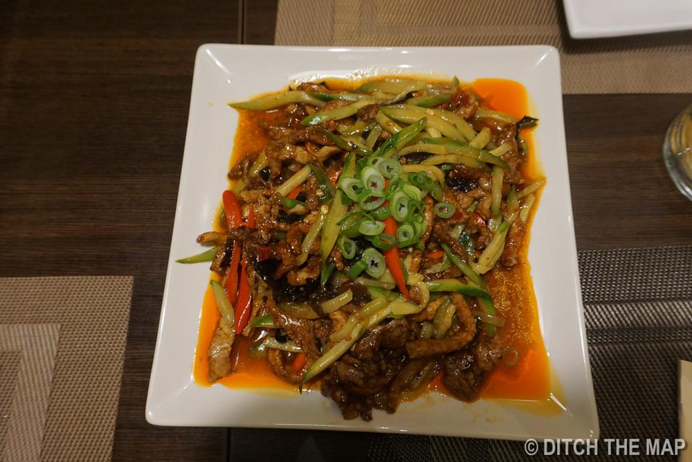 Szechuan food in Madrid, Spain