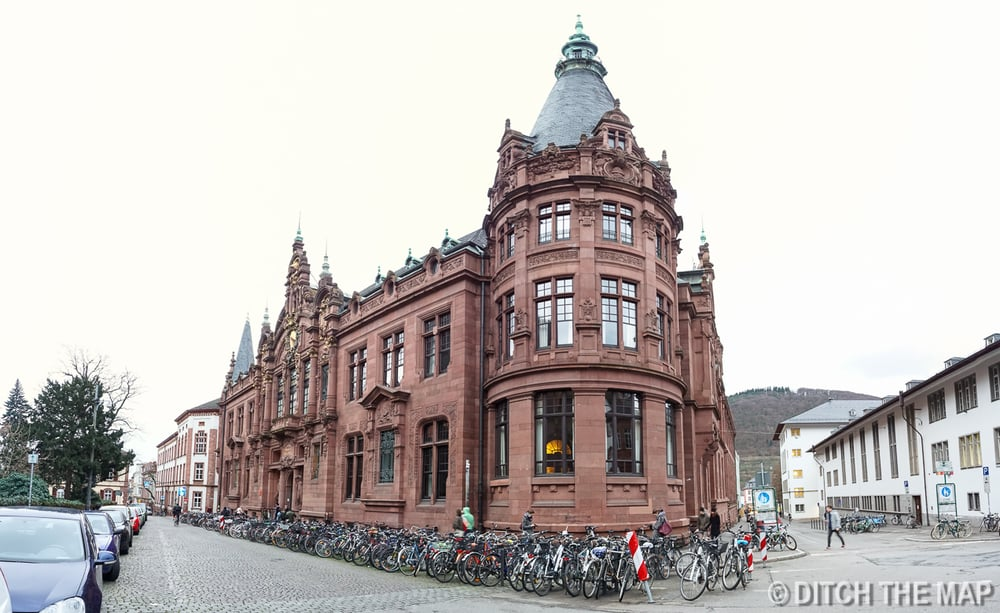 University Library in Heidelberg, Germany