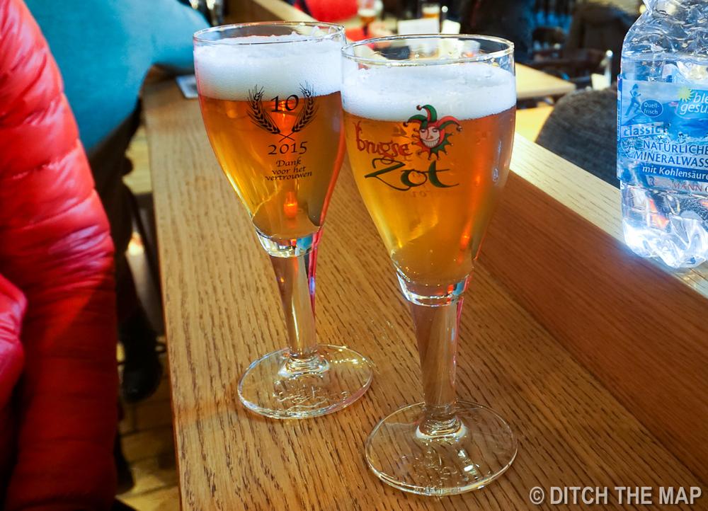 Huisbrouwerij De Halve Maan Brewery in Bruges, Belgium