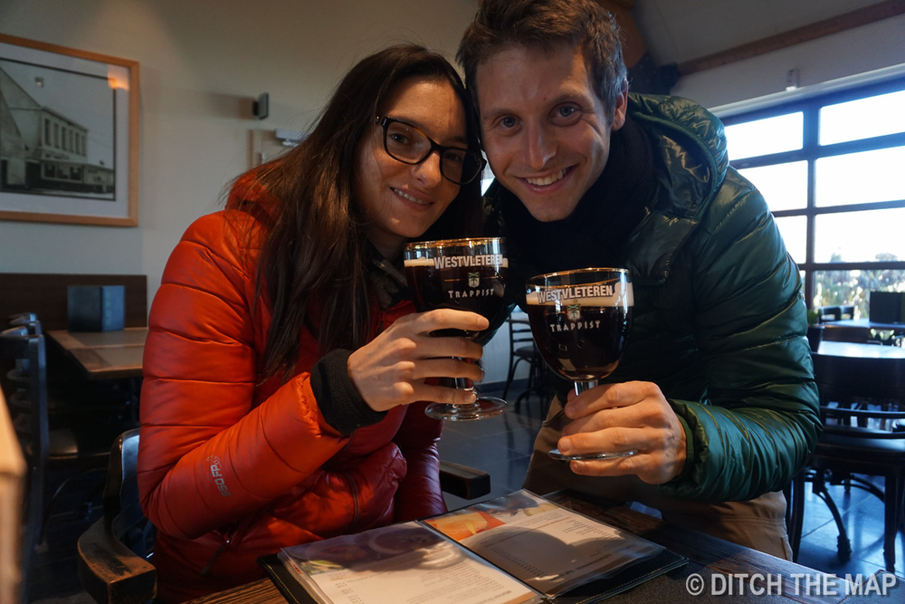 Drinking the world's best (and more rare) beer in Westvleteren, Belgium