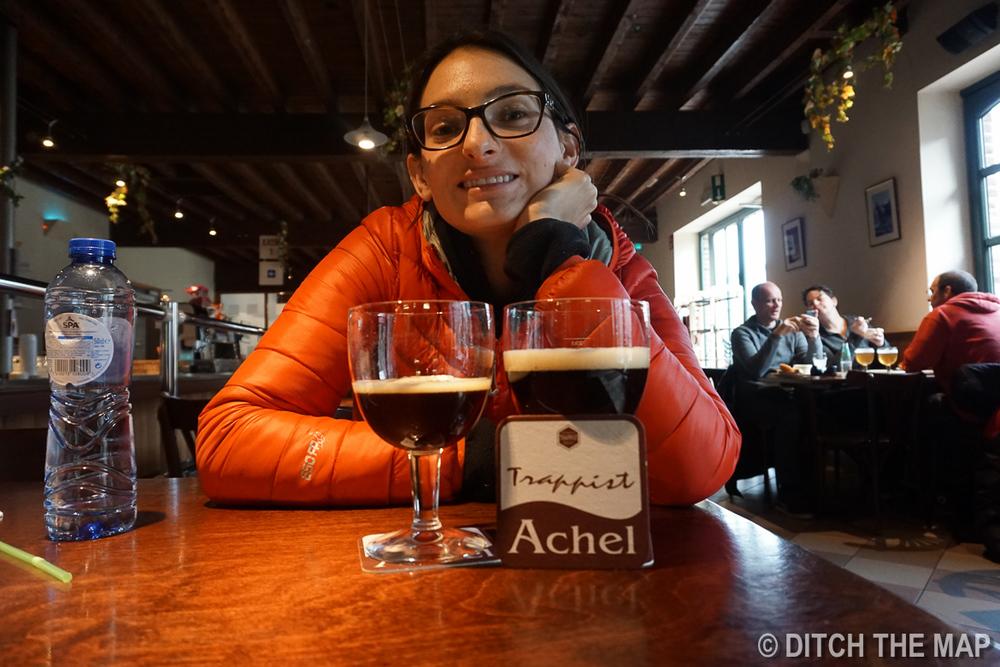Achel Trappist Abbey in Belgium