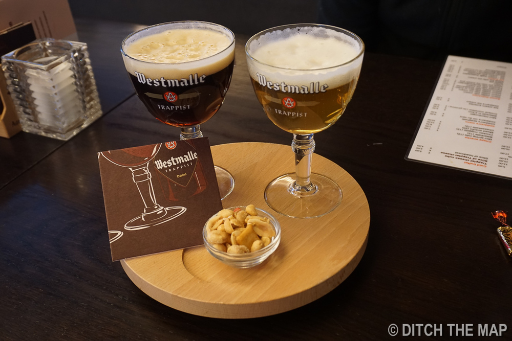 Westmalle Trappist Abbey in Belgium