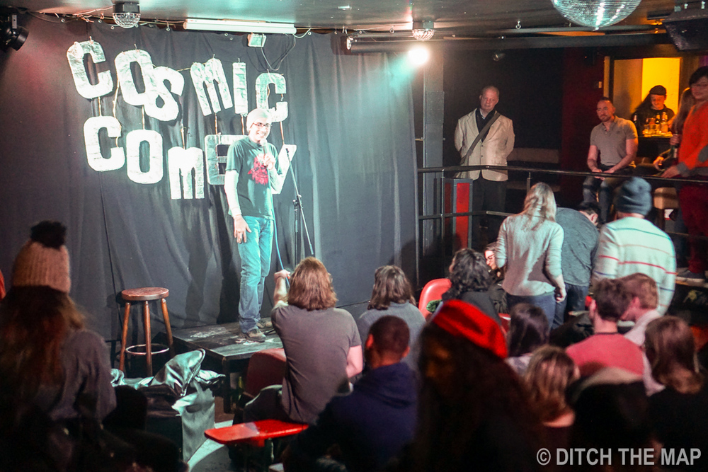 Comedy show in Berlin, Germany