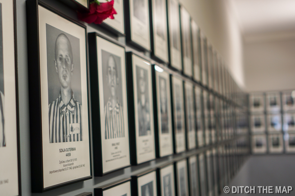 Some of the 1.3 million victims at Auschwitz, Poland