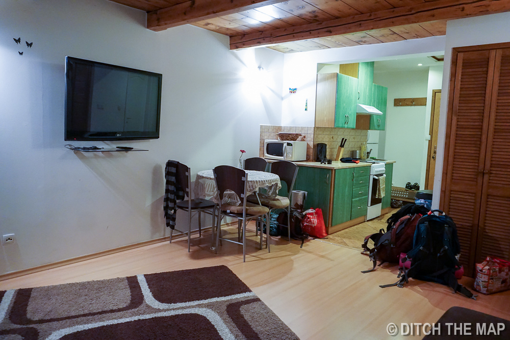 Our Airbnb in Zakopane, Poland