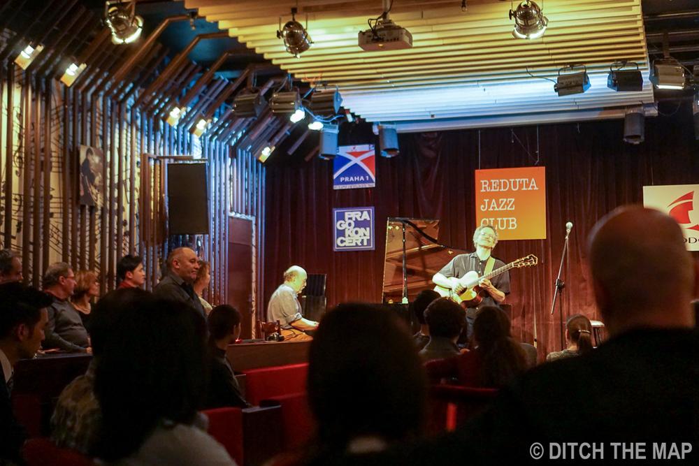 Live Jazz Show in Prague, Czech Republic
