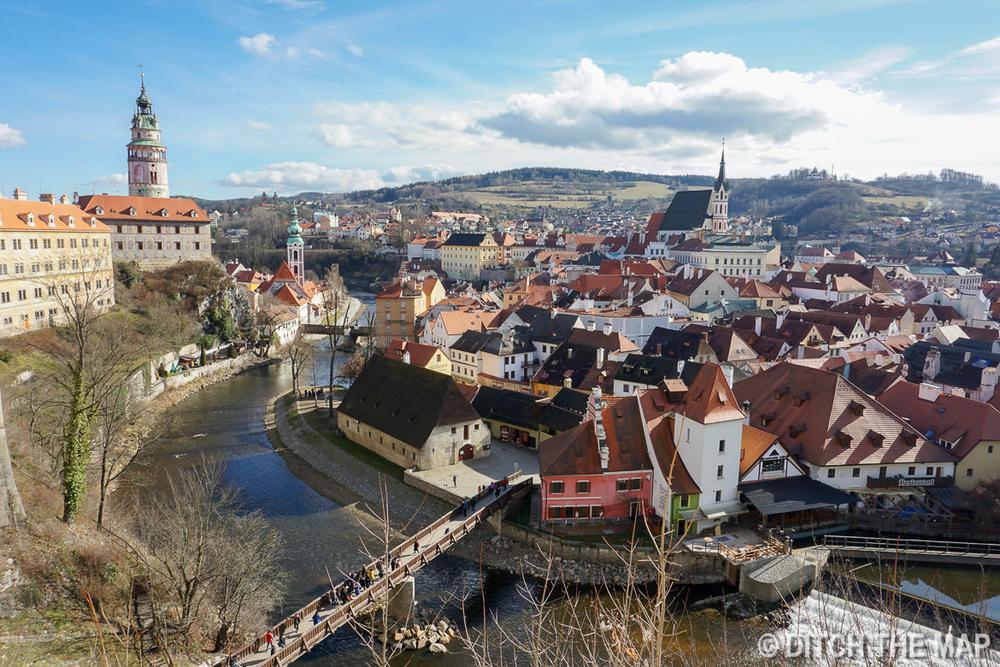 City of Cesky Krumlov, Czech Republic