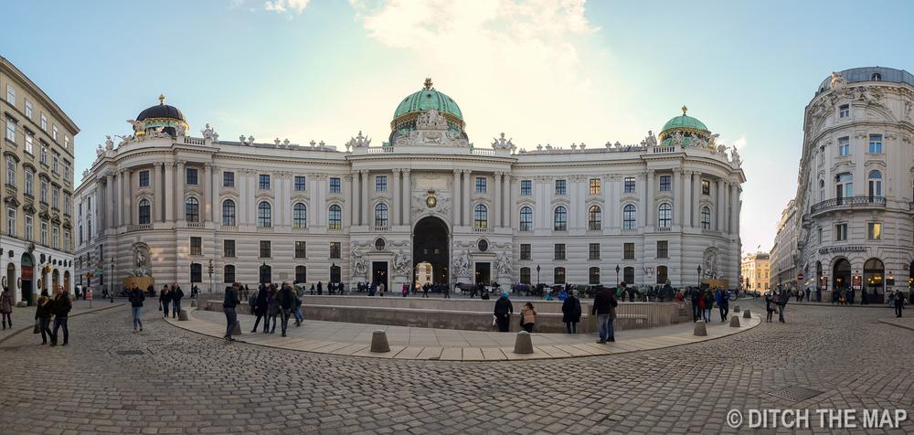 Downtown Vienna, Austria