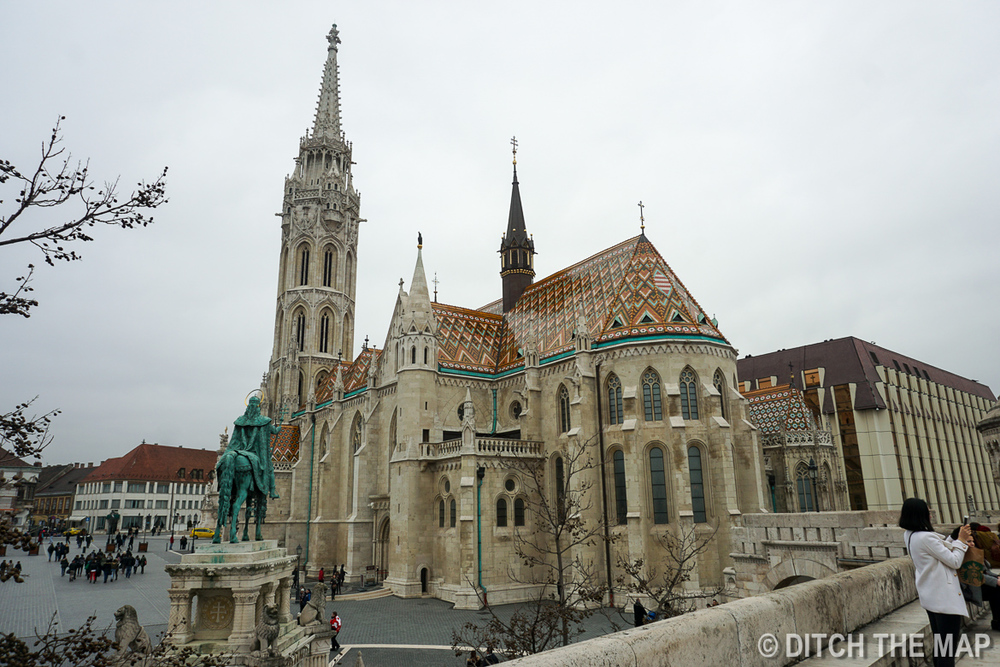 Matthias Church in Buda Region of Hungary