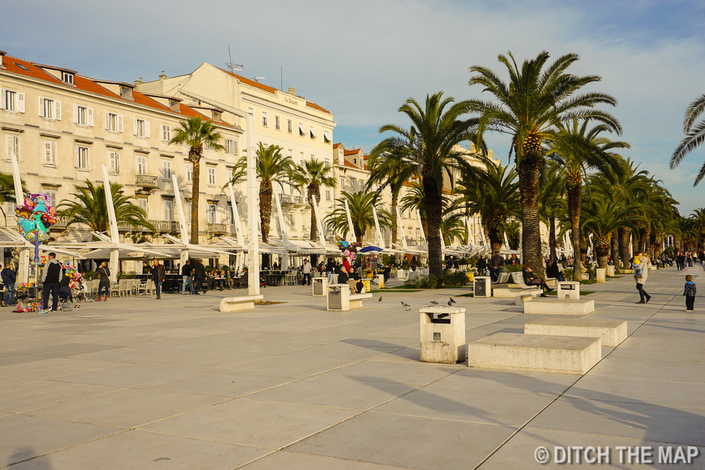 Along the Coast in Split, Croatia