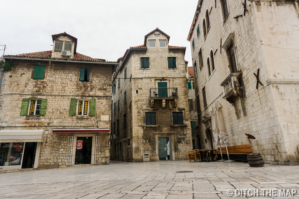 Around Town in Split, Croatia