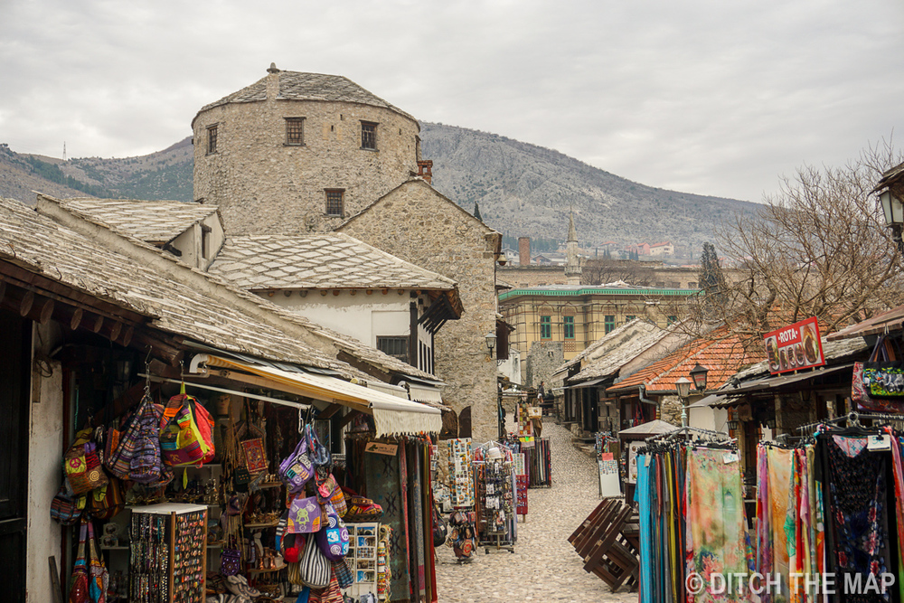 Old Town Mostar, Bosnia