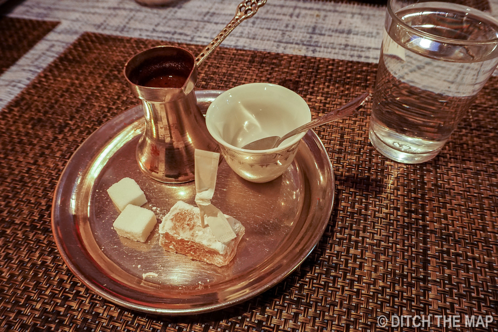 Bosnian Coffee in Mostar, Bosnia