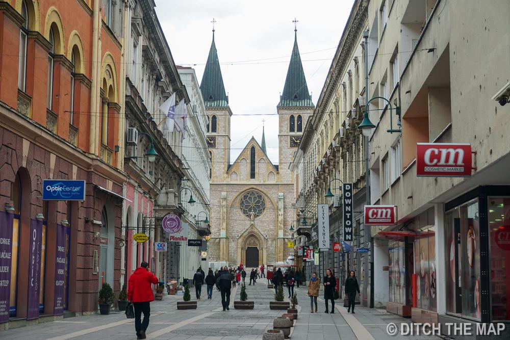 Old Town Sarajevo, Bosnia