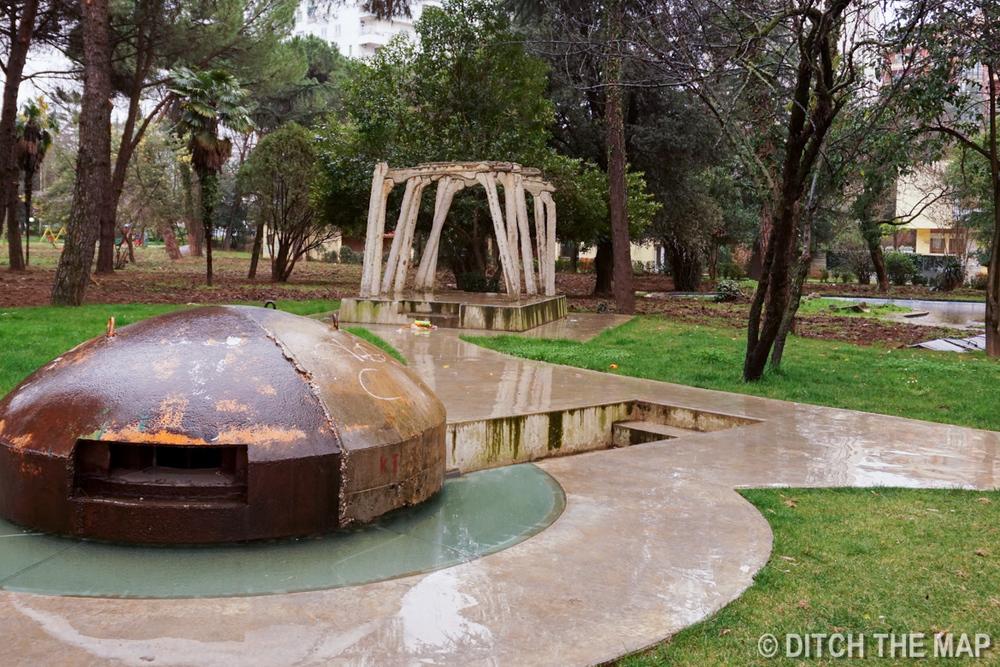 Bunker in Tirana, Albania