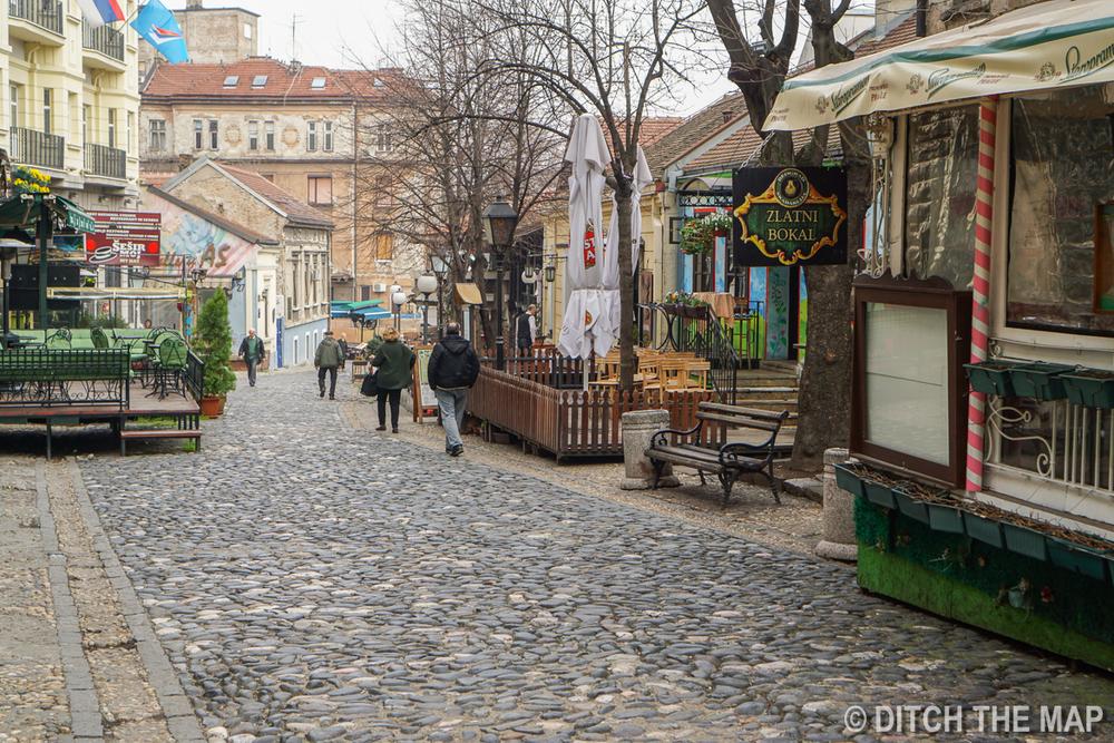 Street in Belgrade, Serbia