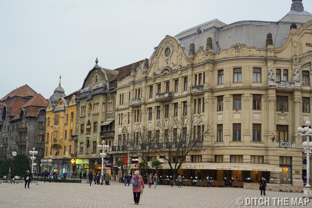 Around town in Timișoara, Romania
