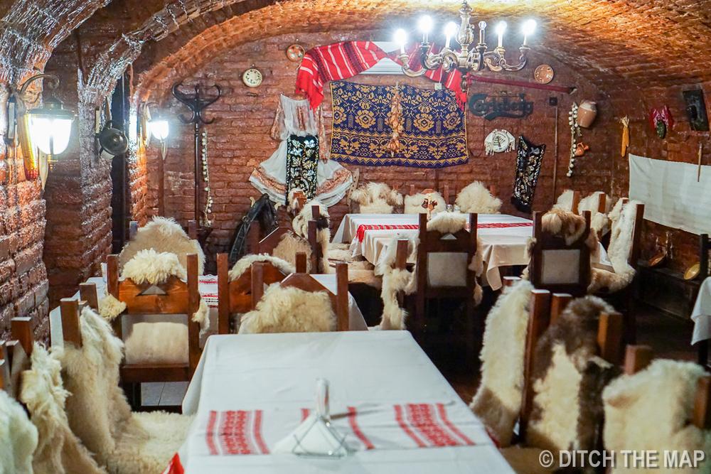 Dinner in Timisoara, Romania