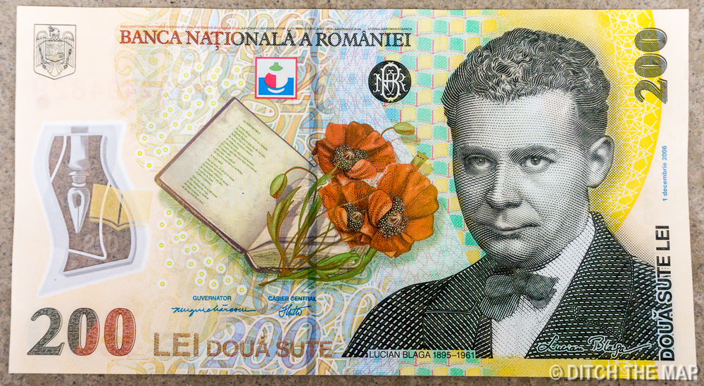 Beautiful Romanian Currency