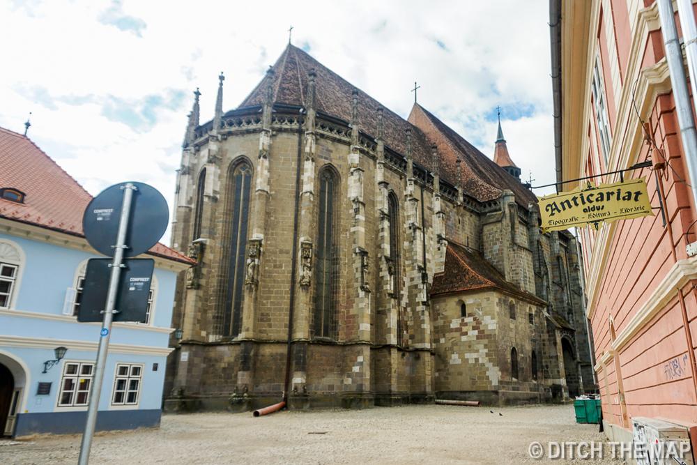 Biserica Neagră (Black Church)  in Brasov, Romania