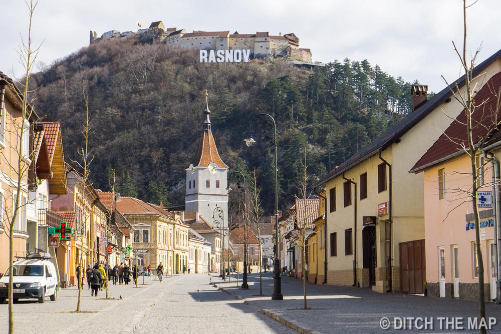 Râșnov Fortress in Romania